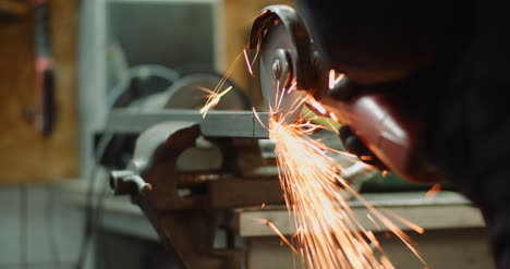 Falling-Spark-During-Cutting-Metal-With-Angle-Grinder-1