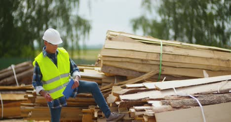 Engineer-Working-At-Wood-Industry