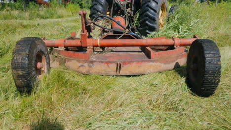 Rear-View-Of-The-Unit-For-Mowing-Grass-He-Is-Pulled-By-The-Tractor