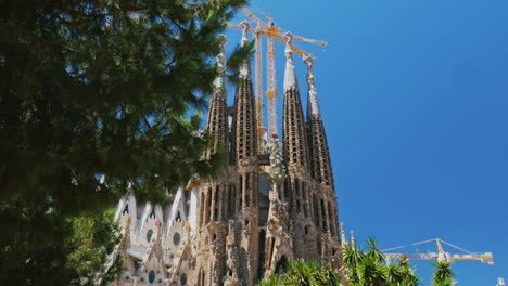 Popular-Among-Tourists-From-All-Over-The-World-Place---The-Temple-Of-The-Sagrada-Familia-In-Barcelon
