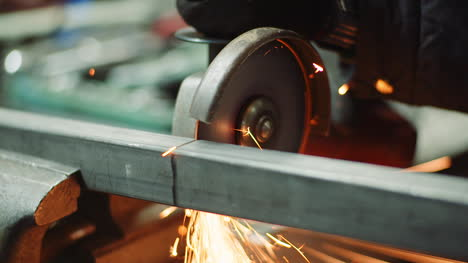 Falling-Spark-During-Cutting-Metal-With-Angle-Grinder-3