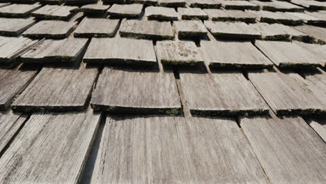 Wooden-Roof-Of-An-Old-American-House-Made-Of-Wooden-Tiles