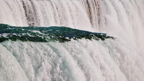 Part-Of-Niagara-Falls-On-The-Background-Of-A-Solid-Wall-Of-Water-Impressive-Natural-Sight-4k-Video