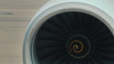 Airliner-Engine-Detail---Turbine-Rotating-Blades
