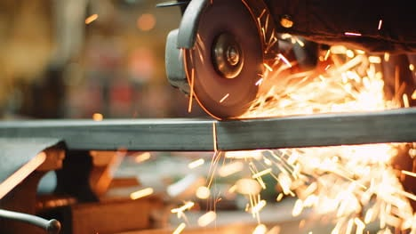 Falling-Spark-During-Cutting-Metal-With-Angle-Grinder-6
