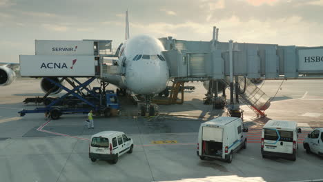 Airport-Ground-Services-Are-Preparing-The-Plane-For-Departure
