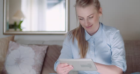 Home-Office-Woman-Working-On-Tablet-3