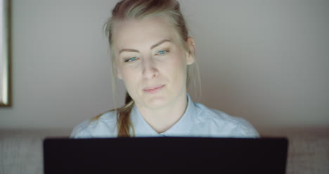 Smiling-Woman-Working-On-Laptop-At-Home-Office-Businesswoman-Typing-On-Computer-Keyboard-5