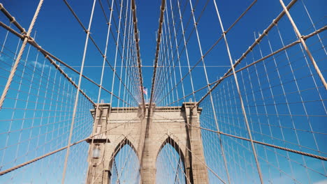 Pylons-And-Ropes-Of-The-Brooklyn-Bridge-One-Of-The-Most-Beautiful-Bridges-In-The-World