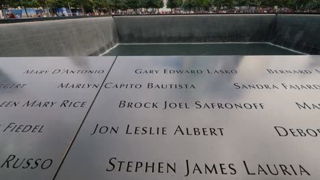 Reflecting-Pool-At-New-Yorks-9-September-Memorial