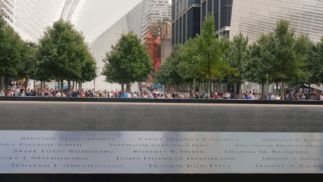 Reflecting-Pool-At-New-Yorks-9/11-Memorial