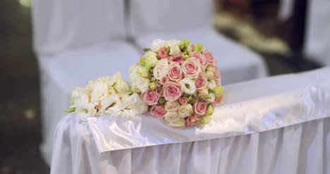 Wedding-Flowers-Bouquet-In-Church