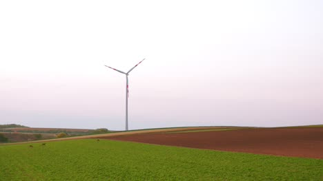 Aerial-View-Of-Windmills-Farm-Power-Energy-Production-23
