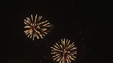 Fireworks-At-The-Beginning-Of-The-New-Year-In-Black-Night
