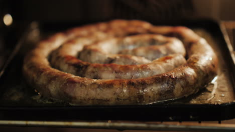 Homemade-Sausage-Roasting-In-Oven-01
