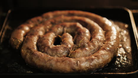 Homemade-Sausage-Roasting-In-Oven-03