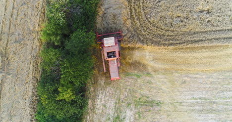 Combine-Harvester-Working-In-Agriculture-Field-5