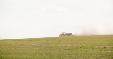 Tractor-Working-On-Agriculture-Field