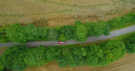 Car-Passing-Highway-Aerial-View-13