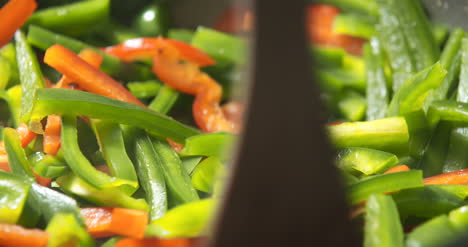 Mixing-Veggies-On-Pan