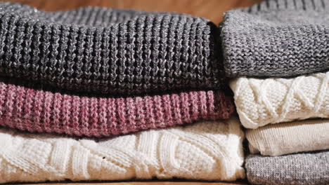 Neatly-Folded-Warm-Winter-Clothes