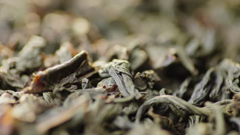 Macro-Video---Dry-Large-Leaf-Black-Tea-4K-Video