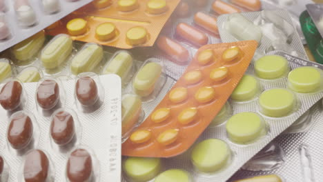 Many-Medical-Tablets-In-Blisters-Are-On-The-Table