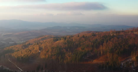 Aerial-View-Of-Woods-And-Mountains-In-Winter-7