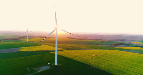 Aerial-View-Of-Windmills-Farm-Power-Energy-Production-3