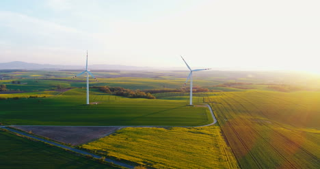 Aerial-View-Of-Windmills-Farm-1