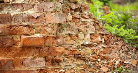 Close-Up-Of-Ruined-Brick-Wall-Ruins-1