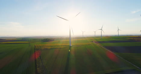 Renewal-Energy-Wind-Turbines-In-Agricultural-Fields