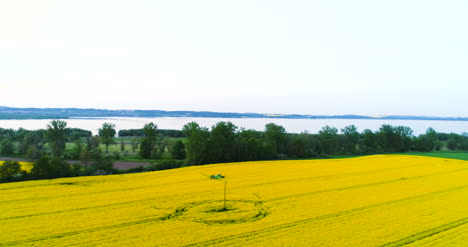 Oilseed-Rape-Field-Sprayed-With-Chemicals-Aerial-View-