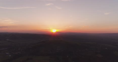 Sunset-In-Mountains-Aerial-View-1