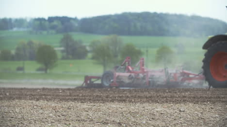 Farmer-Preparing-Farmland-For-Planting-