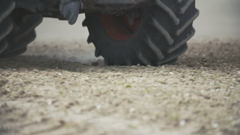 Tractor-Wheels-On-Field
