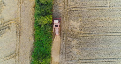 Combine-Harvester-Working-In-Agricultural-Field-6