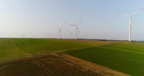 Aerial-View-Of-Windmills-Farm-Power-Energy-Production-13