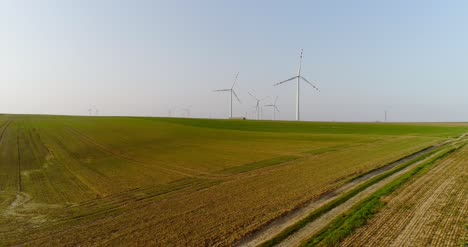 Aerial-View-Of-Windmills-Farm-Power-Energy-Production-30