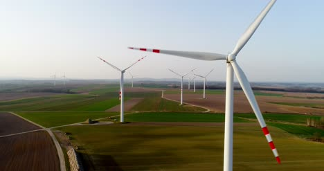 Aerial-View-Of-Windmills-Farm-Power-Energy-Production-32