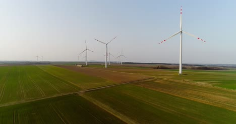 Aerial-View-Of-Windmills-Farm-Power-Energy-Production-33