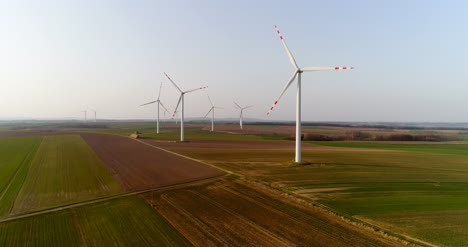Aerial-View-Of-Windmills-Farm-Power-Energy-Production-42