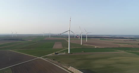 Aerial-View-Of-Windmills-Farm-Power-Energy-Production-44