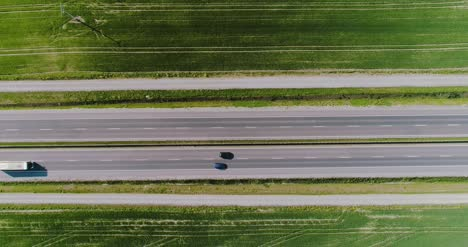 Car-Passing-Highway-Aerial-View-5