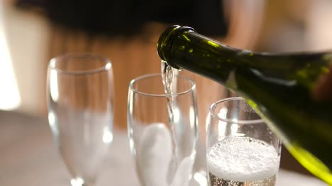 Pouring-Champagne-Into-Glases-Wedding-Reception-1