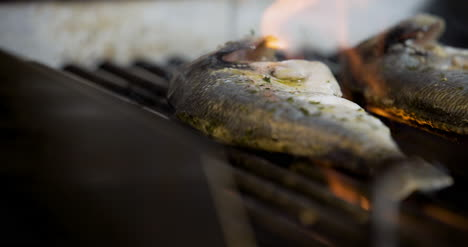 Cook-Grilling-Fish-In-Kitchen-1