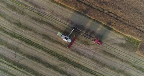 Machinery-Harvesting-Crops-On-Field-11