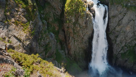 The-Famous-Waterfall-Voringsfossen-In-Norway-Impressive-Beauty-Of-Scandinavian-Nature
