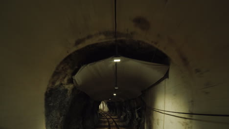 A-View-Of-The-Funicular-Tunnel-That-Passes-Under-The-Ground-The-Car-Goes-Up