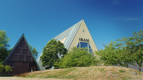 The-Building-Of-The-Museum-Of-The-Old-Ship-Fram-And-The-Brave-Explorers-Of-The-North
